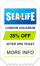 SEA LIFE London Aquarium - After 3pm Ticket