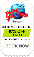 Exclusive Offer with Planet Hollywood at Disney Village Paris