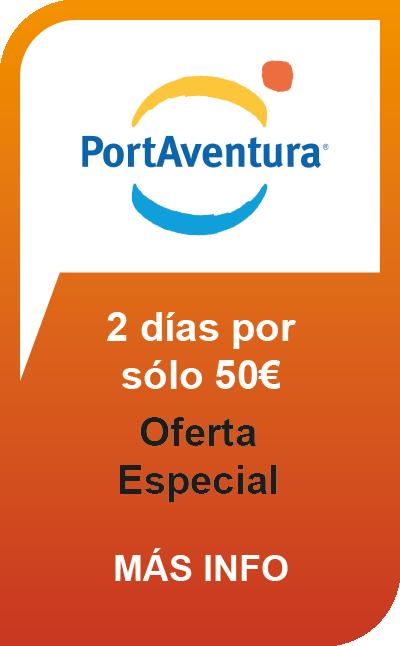 PortAventura 2 Días por 50€