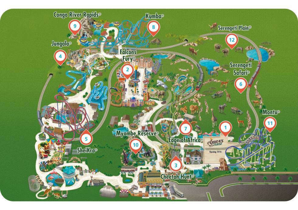 Busch Gardens Tickets Discounts Cheap Deals Buy Online 365 Tickets Uk