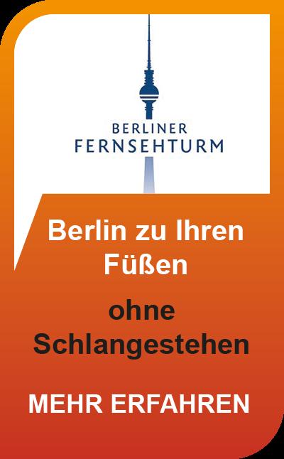 Berliner Fernsehturm - das Wahrzeichen auf dem Alexanderplatz