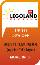 LEGOLAND MULTI DAY TICKET FLORIDA & KENNEDY SPACE CENTER