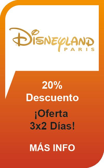 Disneyland® Paris 3 por 2 Días / 2 Parques