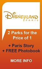 Disneyland Paris + Paris Story + Free Photobook