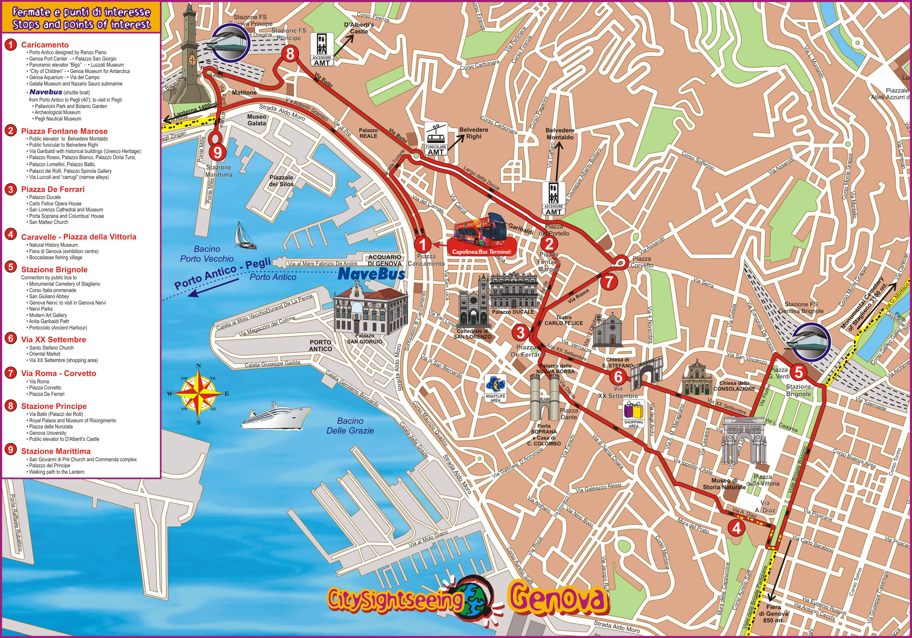 Genoa City Sightseeing Tour Tickets Discounts Amp Cheap
