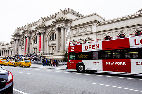 Open Loop New York Hop On and Off Bus Tour