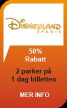 Disneyland 2 for 1