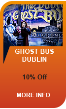 This halloween enjoy 20% off Dublin's Ghost Bus