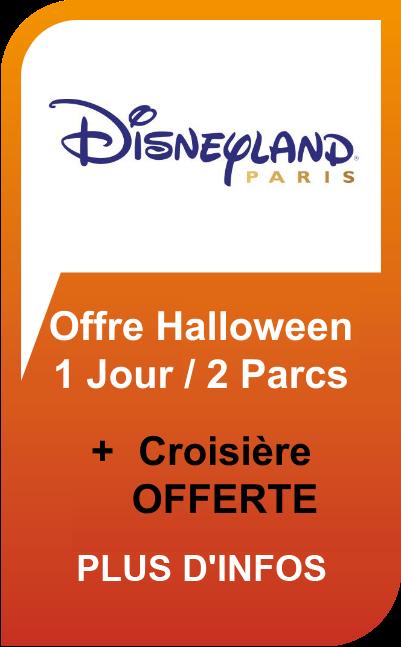 Offre Spéciale Halloween + Bateaux Mouches Disneyland Paris