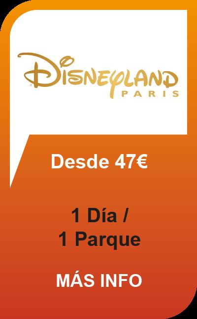 Disneyland Paris 1 Día / 1 Parque