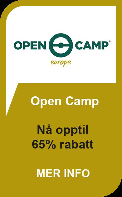 Open Camp Tilbud Spar opptil 63%