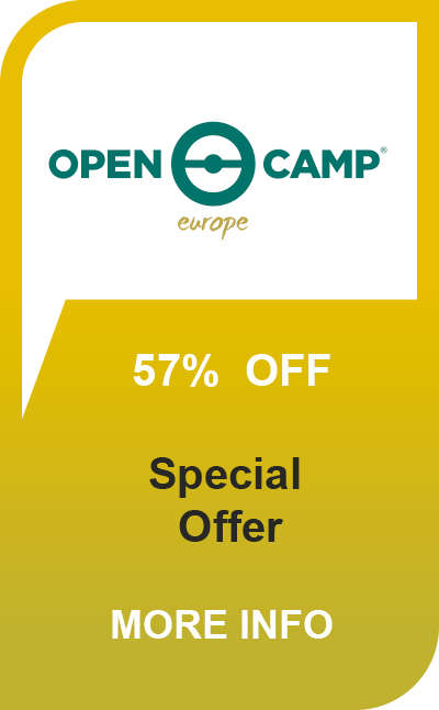 Open Camp 57% off