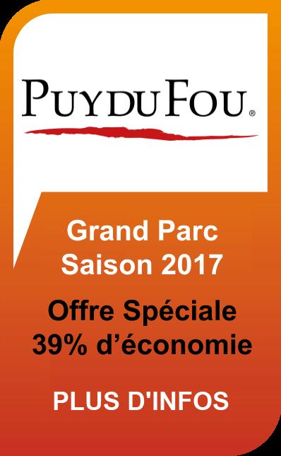 Puy du Fou Grand Parc Offres et Réductions