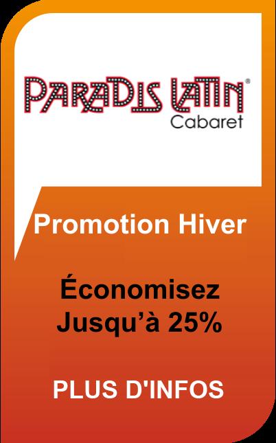 Paradis Latin Promotion Hiver