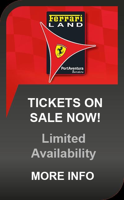 Port Aventura Tickets Including Ferrari Land On Sale Now!