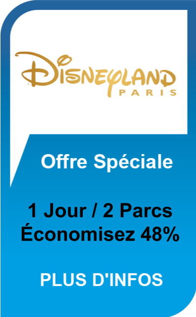 Disneyland Paris 1 Jour / 2 Parcs - Offre Spéciale