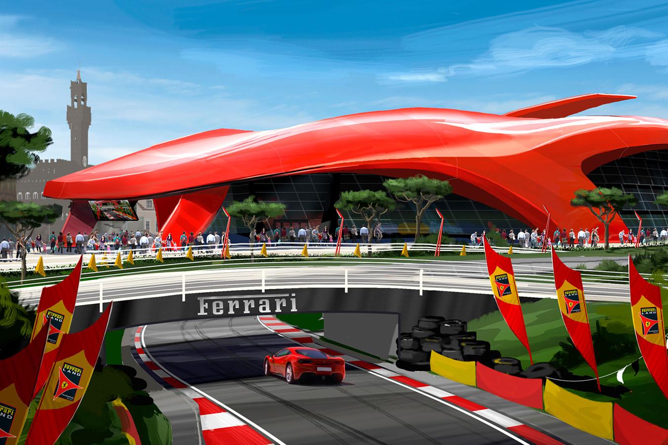 Ferrari Land - 1 Day 2 Parks