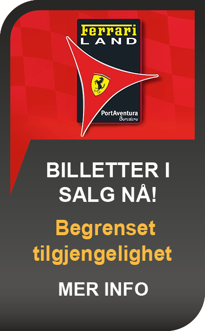 Ferrari land Billetter
