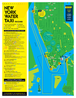 New York Water Taxi Route Map