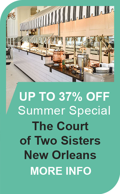 The Court of Two Sisters Jazz Brunch Summer Special!