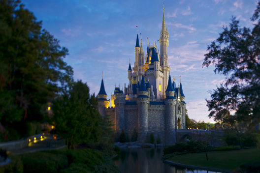Walt Disney World Resort - Cinderella Castle