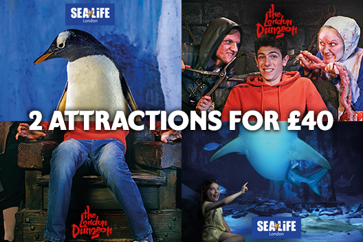 London Dungeon + SEA LIFE London Aquarium