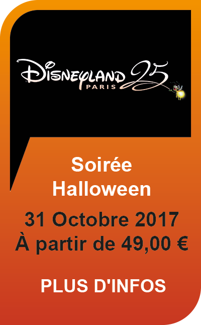 Disneyland Paris Soirée Halloween