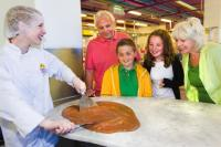 Cadbury world demonstration