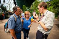 A guided Chocolate & Chilli Tour at the Eden Project
