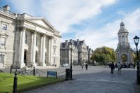 Dublin Parliament square