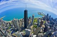 360 Chicago Fish Eye Shot