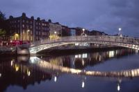 Dublin Night bridge