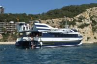 Catamaran in Salou