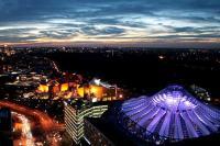 Panoramapunkt Berlin nachts
