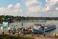 7-Seen Tour Abfahrt an der Station Wannsee | Stern und Kreisschiffahrt Flotte unterwegs auf Wannsee und Havel