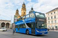 Haltestelle Odeonsplatz | Hop-on Hop-off Touren Blauer Cabrio Doppeldeckerbus | GrayLine Sightseeing | Plätze sichern bei 365Tickets Germany