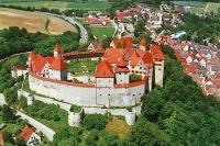Burg Harburg an der Romantischen Straße | Tagesausflug nach Rothenburg und zur Harburg ab München
