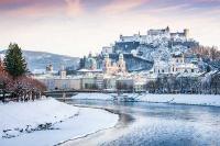 Blick auf das winterliche Salzburg | Tagestour ab München auf den Spuren von Mozart | Gray Line Sightseeing | 365Tickets Germany
