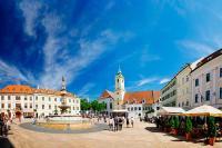 Tagesausflug nach Bratislava ab Wien | Stadtansicht Bratislava | Vienna Sightseeing | 365 Tickets Austria