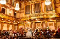 Wiener Mozart Orchester Innenansicht Goldener Saal Musikverein Wien