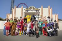 All of your favourite characters at Movie World