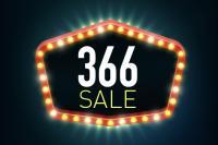 366 Sale