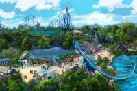 Mako Plaza at SeaWorld Orlando