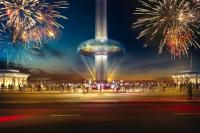 British Airways i360 Fireworks