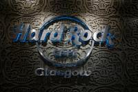 hard rock cafe glasgow logo