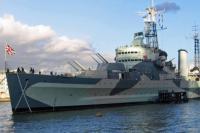 HMS Belfast flag