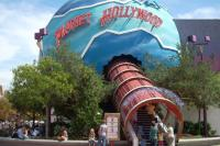 Planet Hollywood Restaurant at Disneyland Paris - entrance