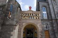 The Queens Gallery entrance Edinburgh