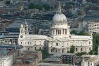 St. Paul's Cathedral Birds eye view