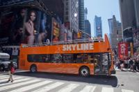 Skyline Bus at Times Square